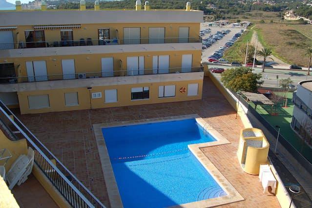 Estupendo apartamento en Moraira para 4 personas
