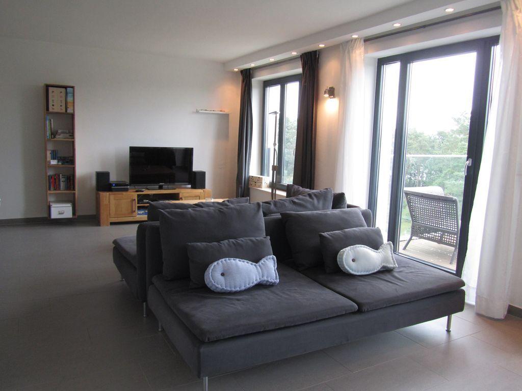Wohnung auf 63 m² in Binz prora
