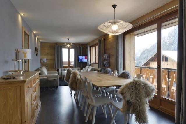 Apartamento para 12 personas de 6 habitaciones