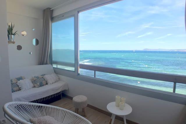 Hébergement à Six-fours-les-plages pour 4 voyageurs