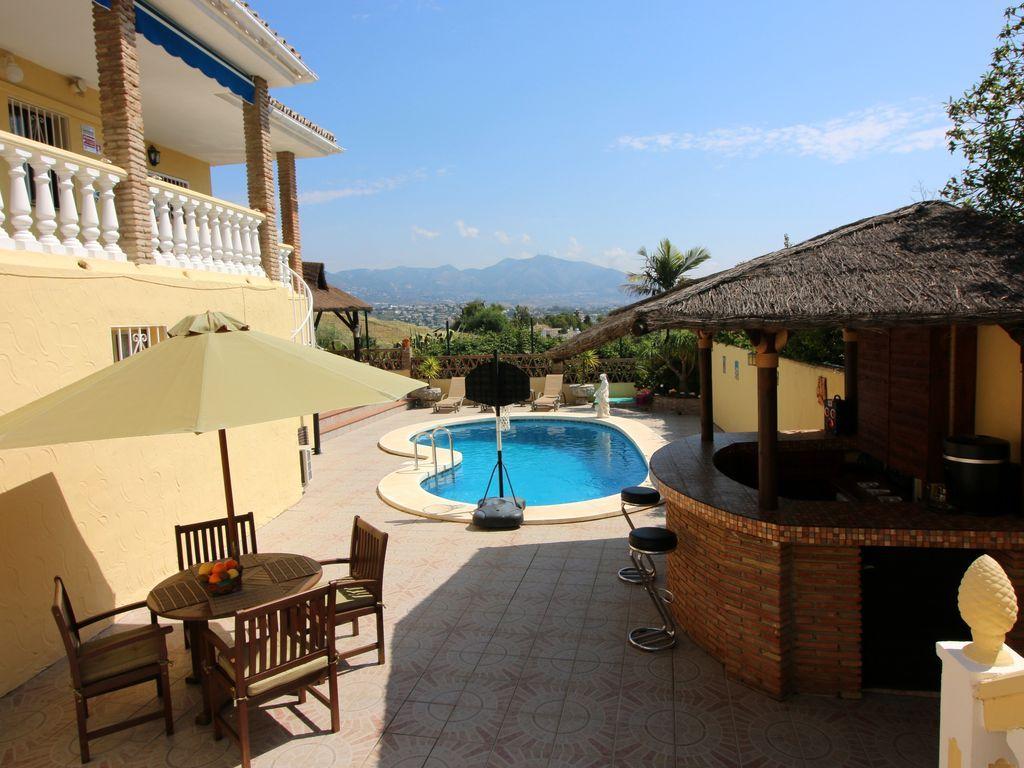 Casa en Mijas costa,  malaga para 14 huéspedes