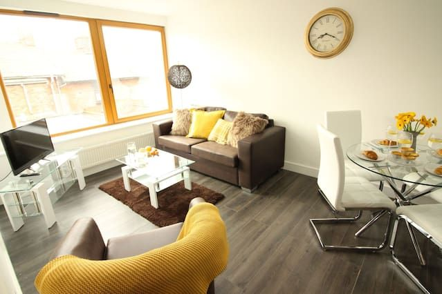 Flat for 4 people in Staffordshire