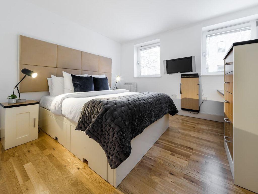 Equipado alojamiento de 1 habitación