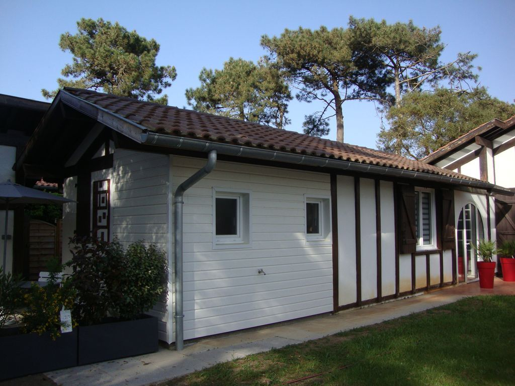 28 m² holiday rental with garden