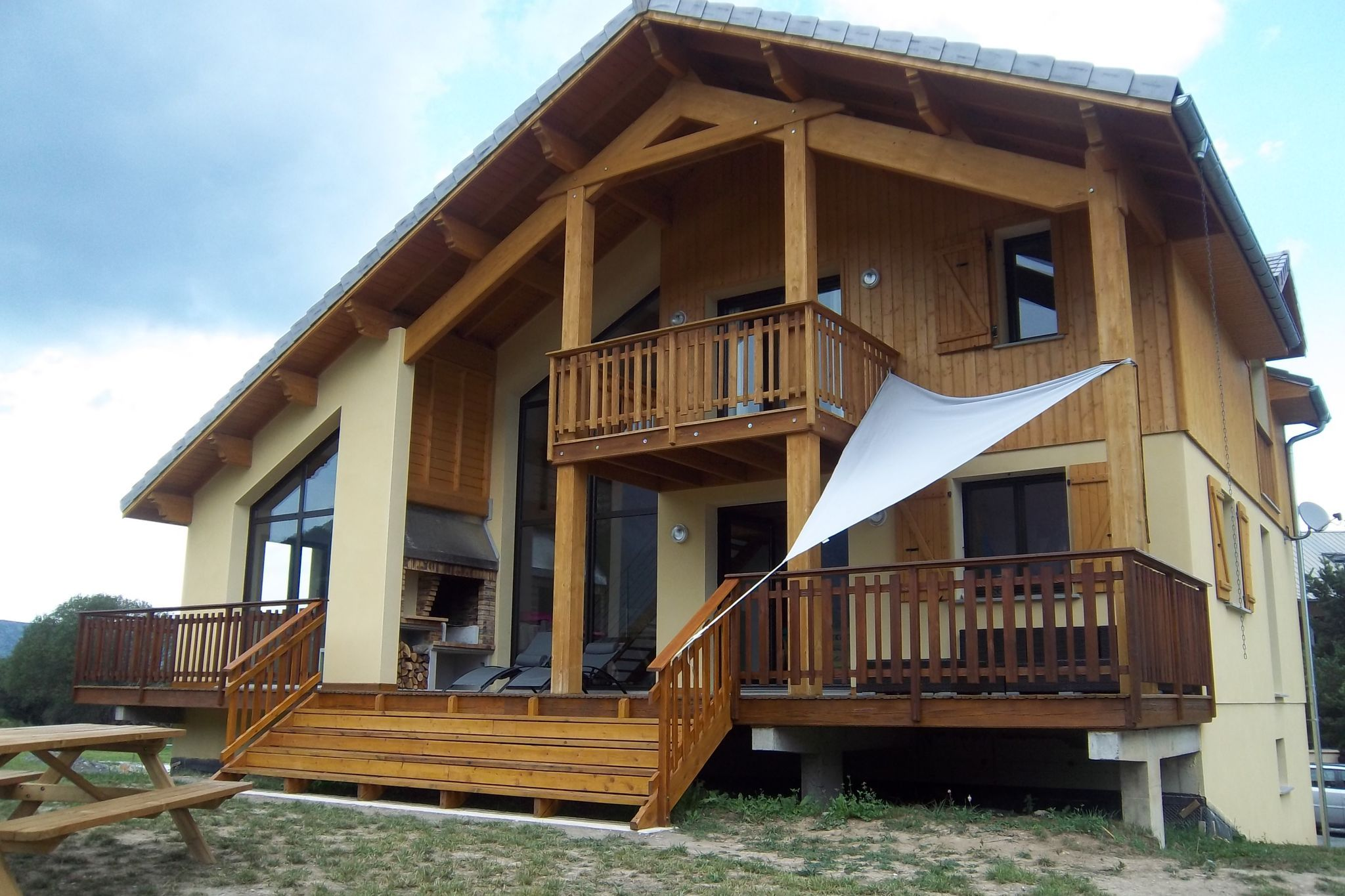 Casa panorámica para 11 personas