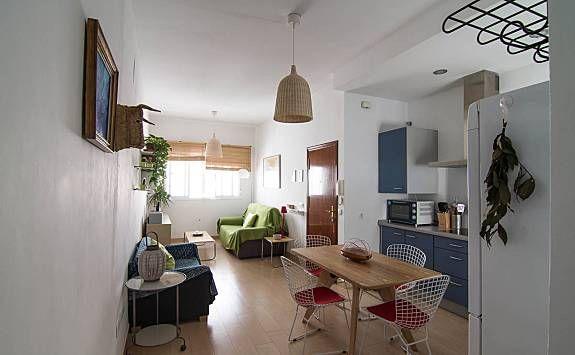 Apartamento en el centro en Conil de la frontera con TV y Cocina