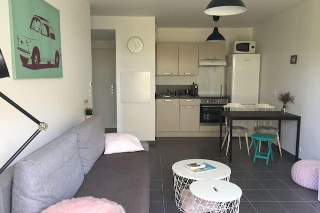 Apartamento de 1 habitación en Moliets-et-maa