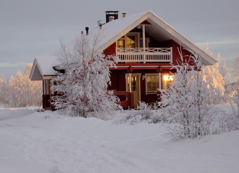 Lovely cottage by Ounasjoki-river