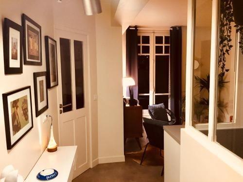 Bien équipé appartement de 1 chambre