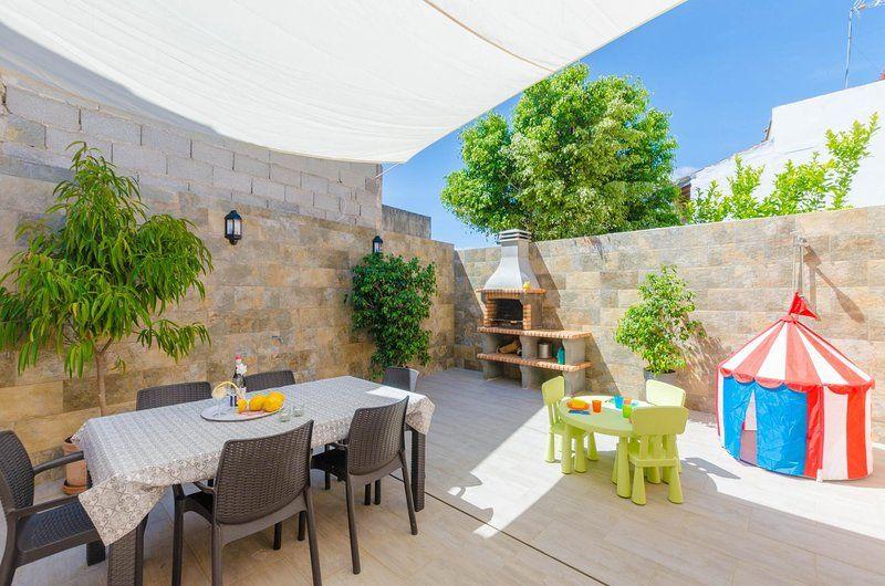 Casa con jardín en Porreres