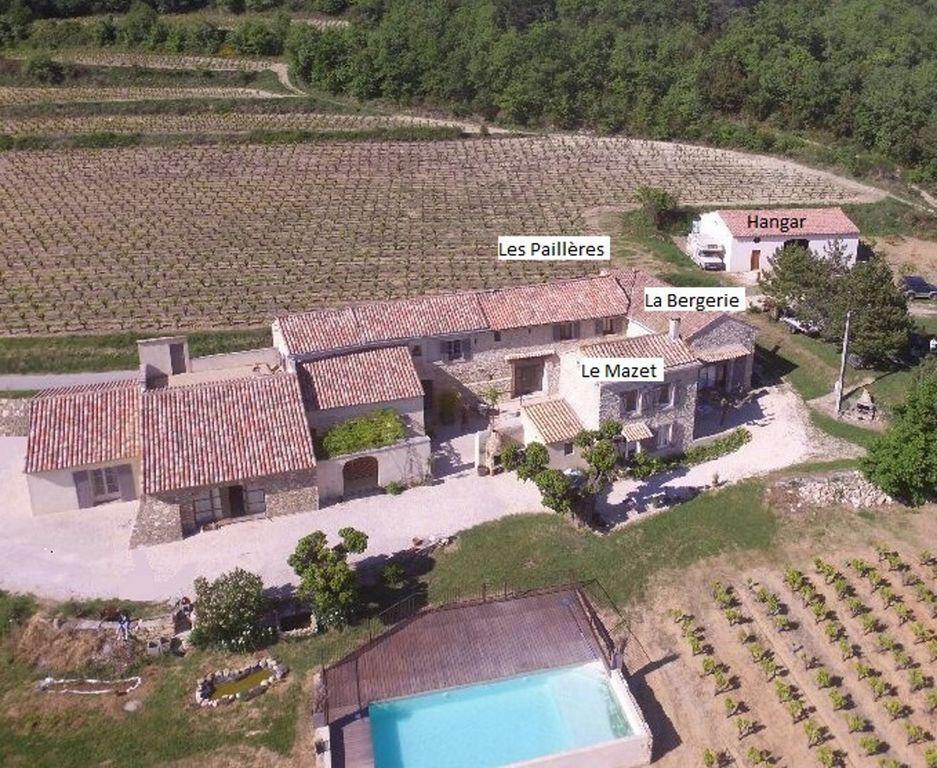 Casa con jardín para 14 huéspedes