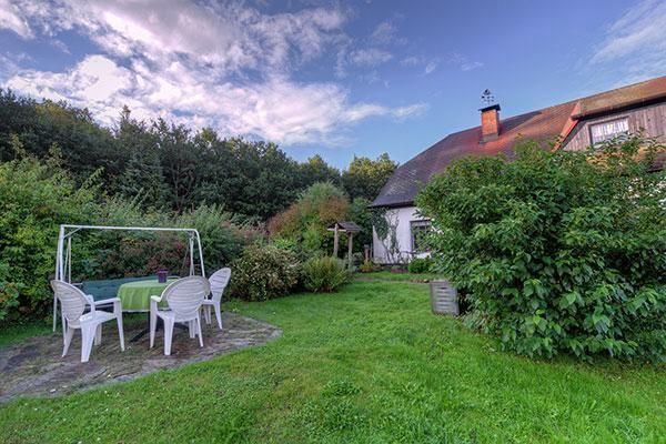 Apartment mit Garten in Sassnitz
