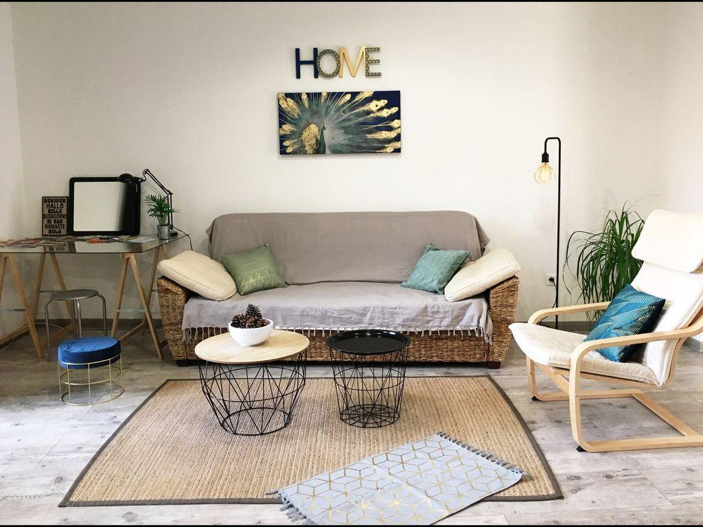 Appartement bien équipé de 2 chambres