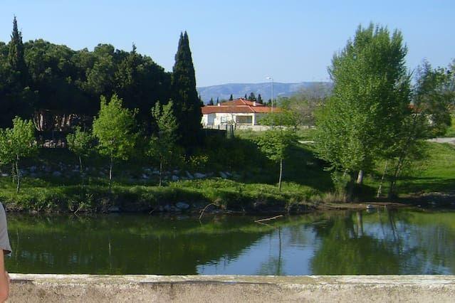 Near the Mediterranean, Rivesaltes
