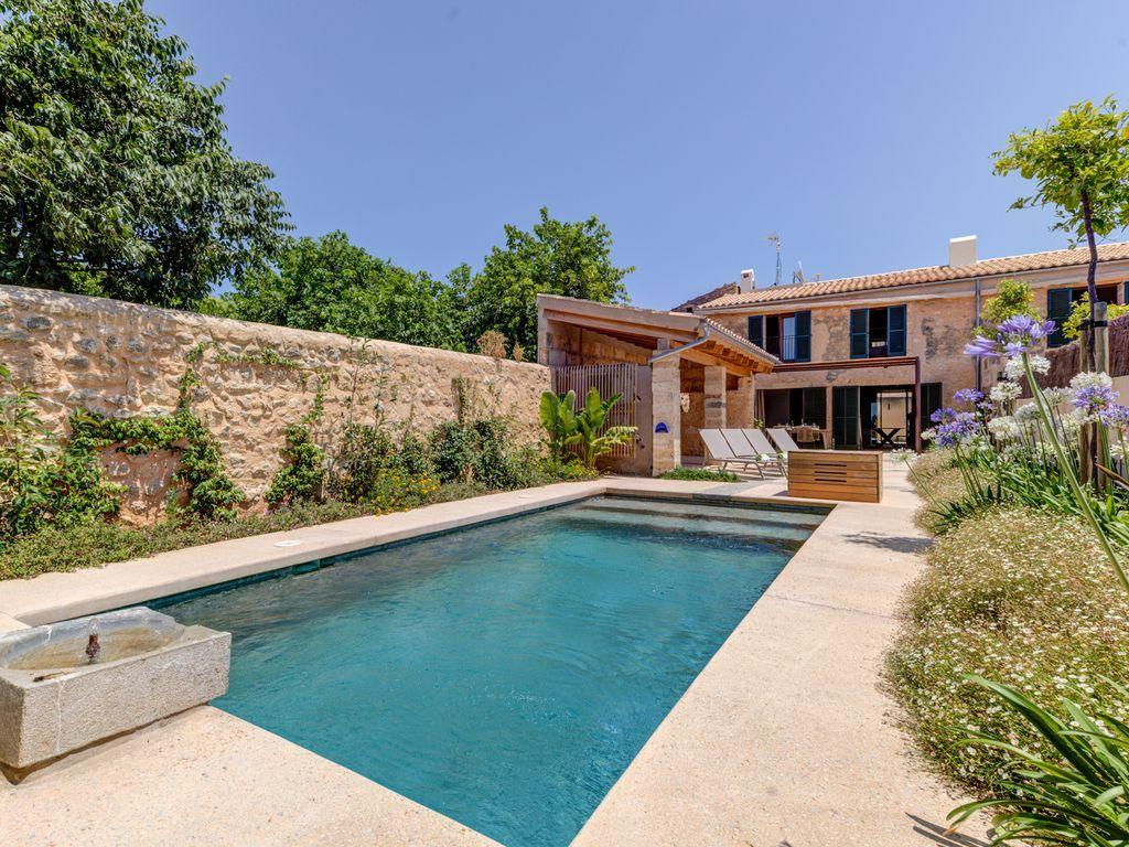 Casa para 6 huéspedes con jardín