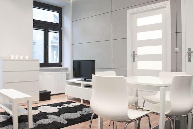 Apartamento funcional en Cracovia de 34 metros