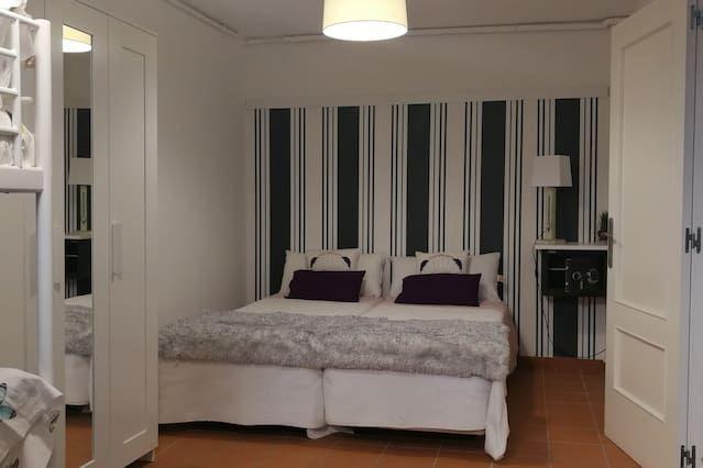 Alojamiento de 60 m² de 2 habitaciones