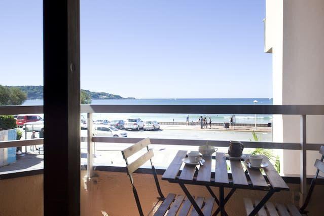 Hendaya Apartamento vistas acceso directo a playa