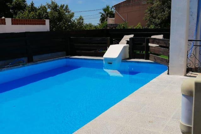 Vivienda de 3 habitaciones con piscina