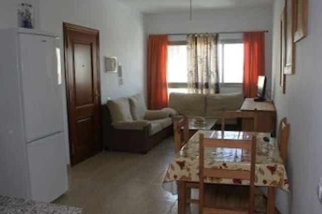 Apartamento en zona centro para 3 en El cotillo