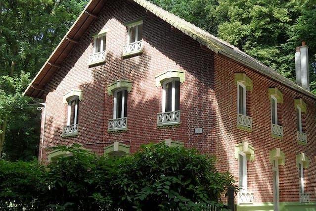 Casa con jardín de 280 m²