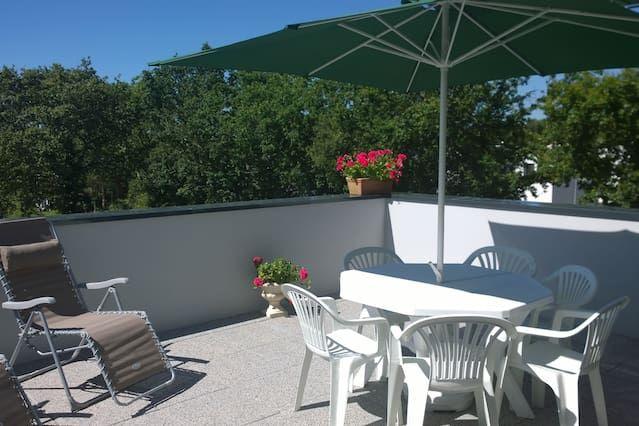 Piso de 60 m² con jardín