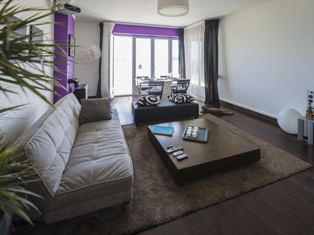 Hébergement merveilleux avec 2 chambres