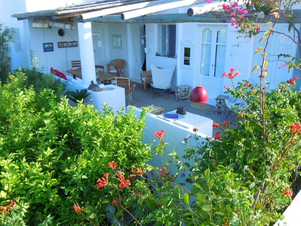 Casa de 2 habitaciones con jardín