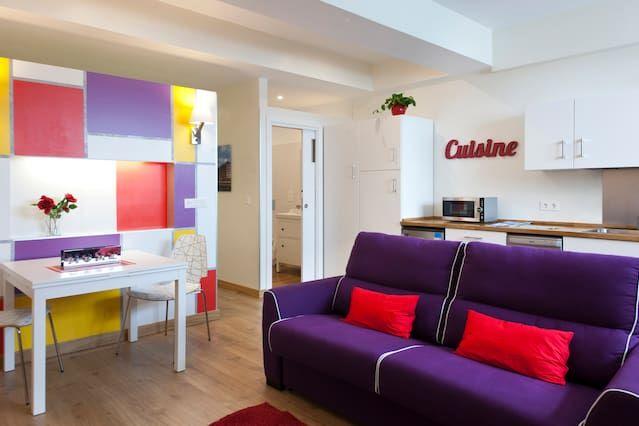 Vivienda en Donostia para 4 huéspedes