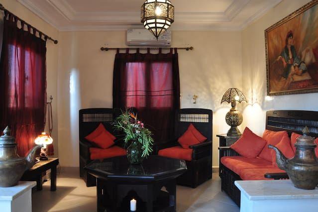 Panorámico alojamiento en Marrakech