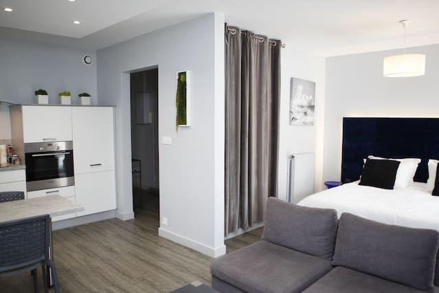 Piso de 35 m² para 2 huéspedes