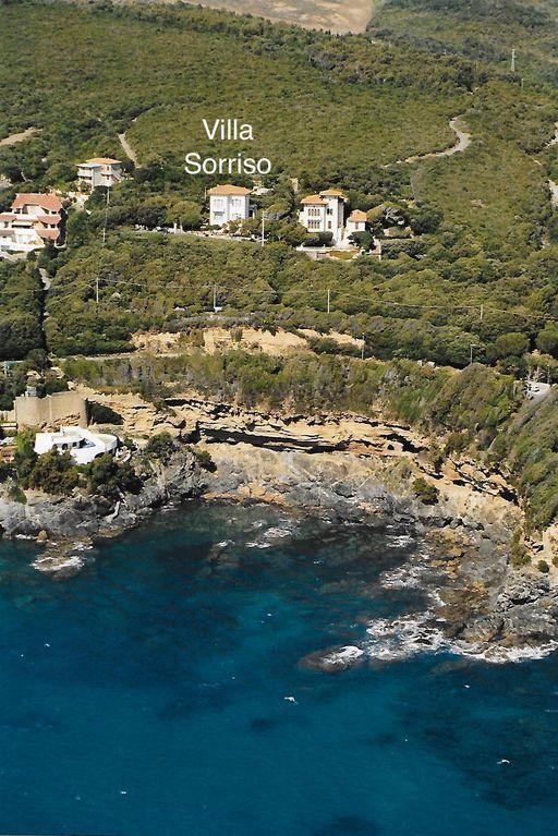 Casa para 14 huéspedes en Castiglioncello