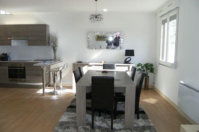 Apartamento en el centro de la ciudad de Bayeux