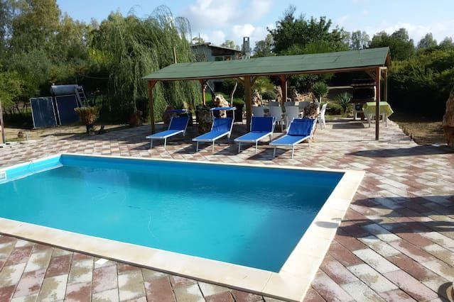 Residencia idónea para animales con piscina