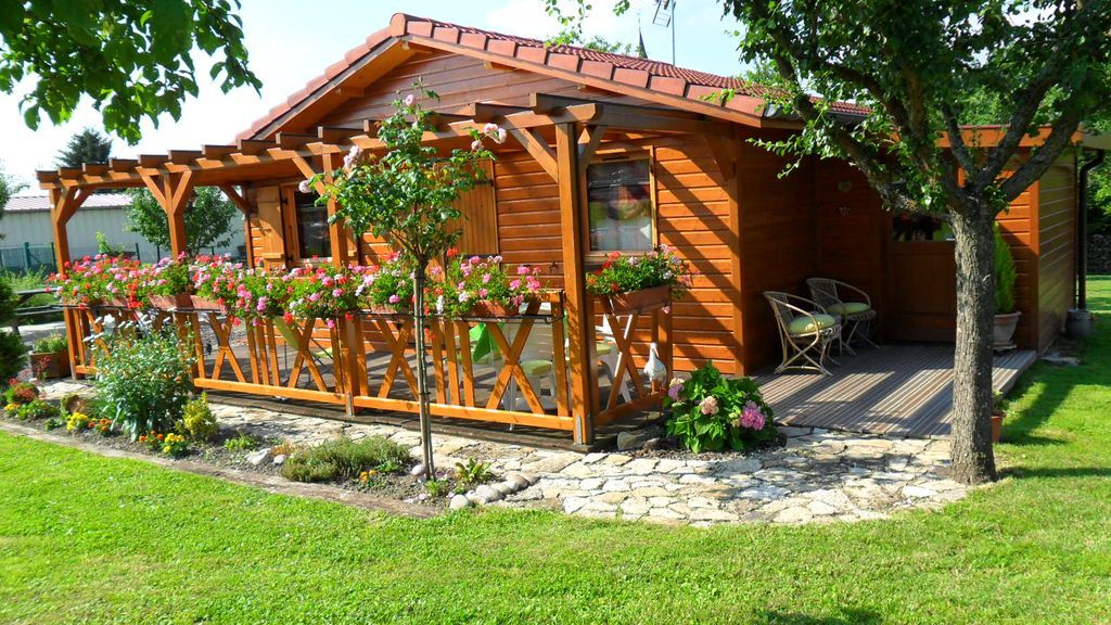 Casa de 41 m² con jardín