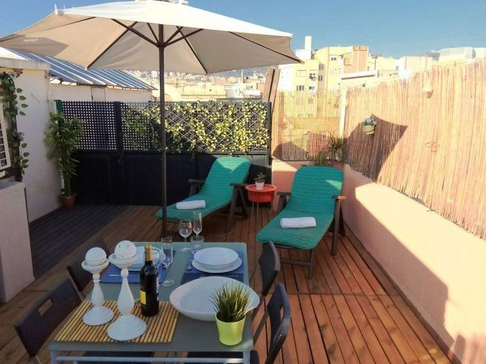 Holiday rental in Barcelona of 67 metres squared