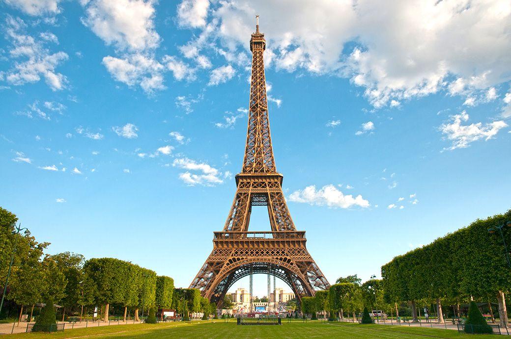 Torre Eiffel desde Champs-de-mars