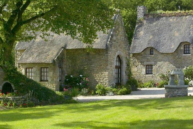 La Grange, una encantadora casa de campo con piscina climatizada (7 dormir, más bebés)