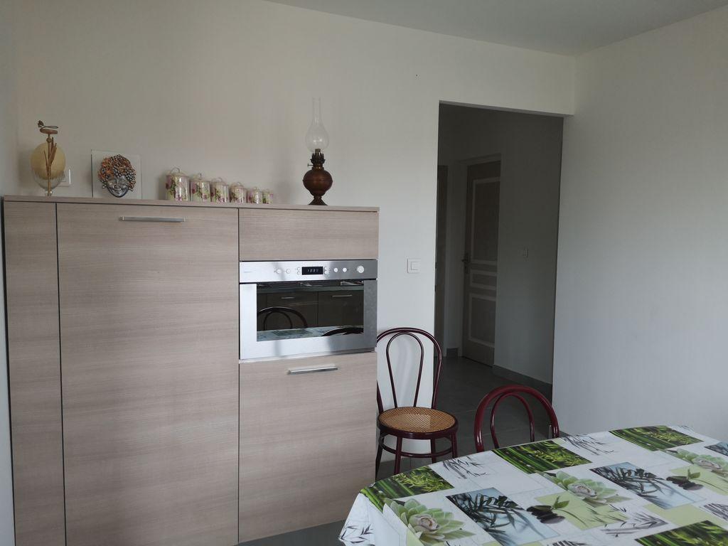 Hébergement confortable avec 2 chambres