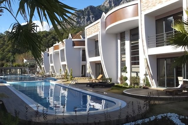 Flat with parking included in Kemer - antalya