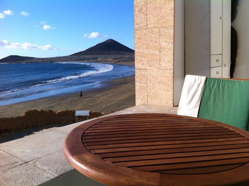 Ferienunterkunft mit Balkon