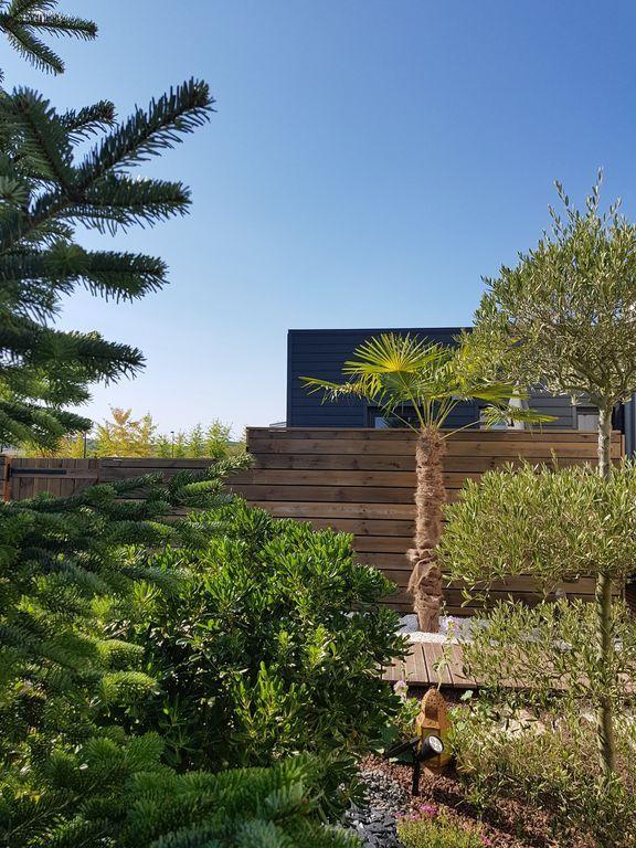 Logement de 1 chambre avec jardin