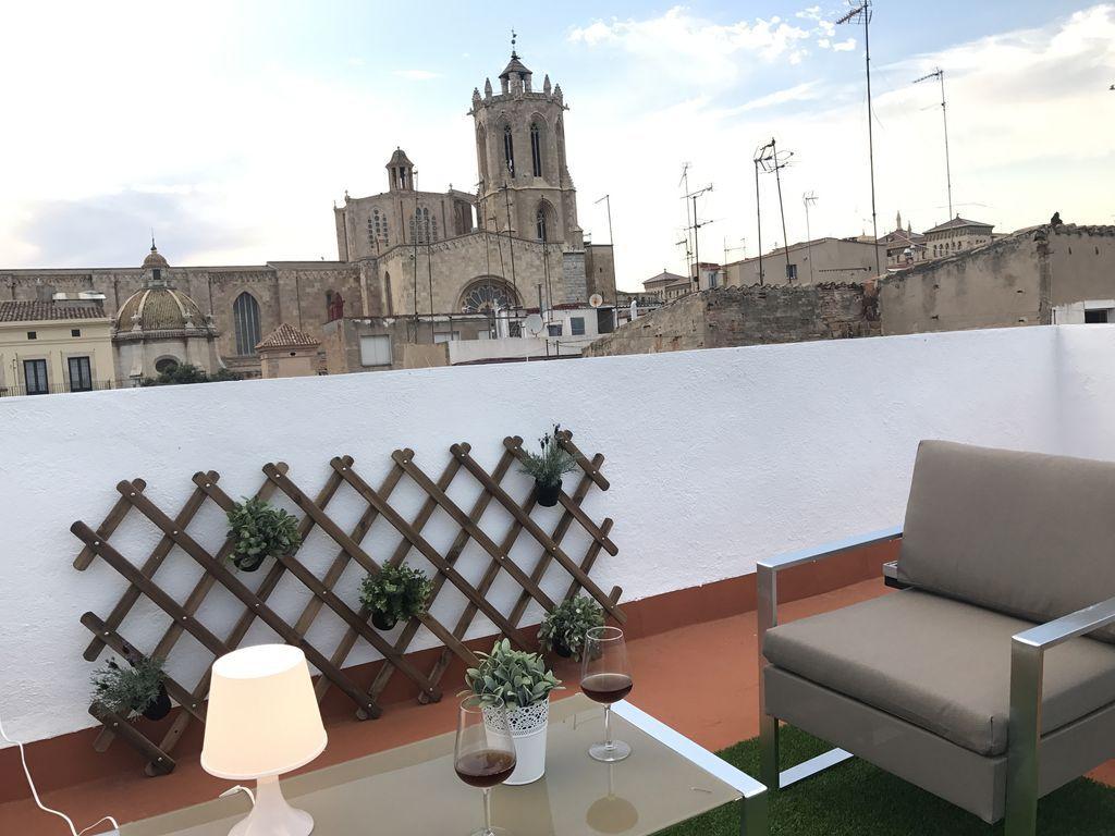 Piso vacacional estupendo de 3 habitaciones en Tarragona