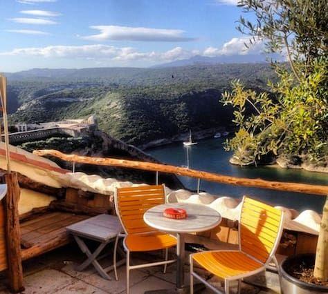 Bonifacio-Appart-best view-Corsica