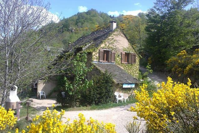 Casas rurales, cerca de las Gorges du Tarn, en el corazón del Parque Nacional de Cévennes