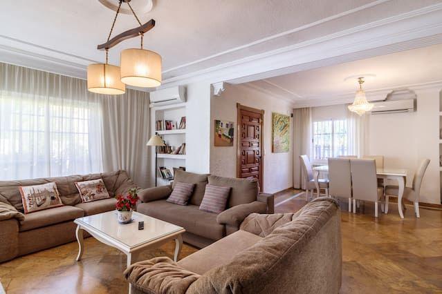 Hogareña residencia para 8 huéspedes