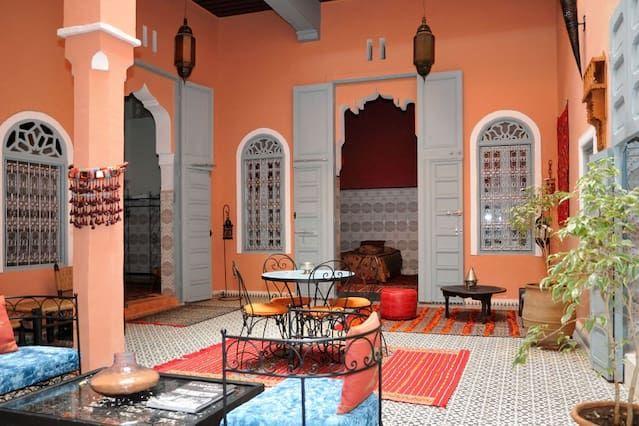 Casas de Familia à Mequínez, Medina, en casa de Anne Marie