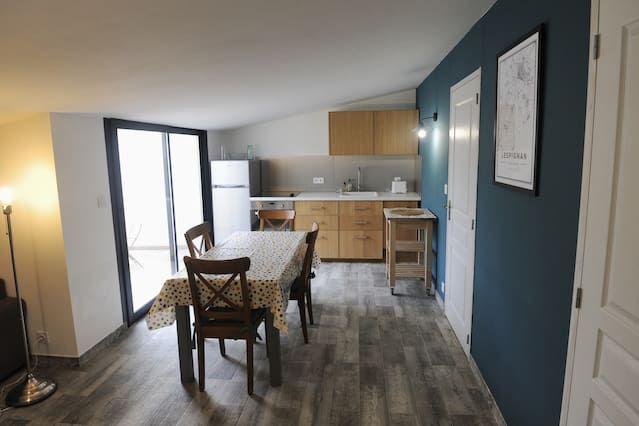 Unterkunft in Lespignan für 4 Gäste