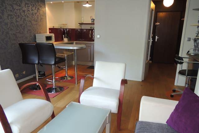 Con vistas alojamiento de 32 m²