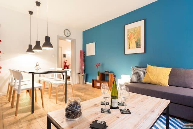 Bel appartement dans un endroit central